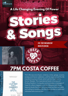 Stories and Songs with Author, businessman, Evangelist Tim Haigh @ Costa Coffee