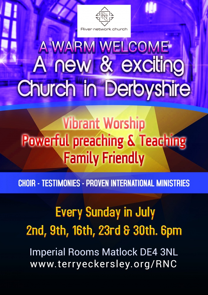 A new & exciting Church in Derbyshire