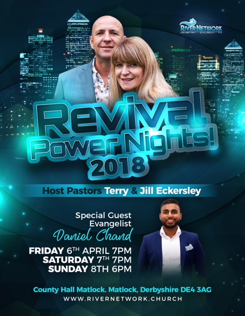 Revival Power Nights 2018 @ County Hall, Matlock, Derbyshire, DE4  3AG