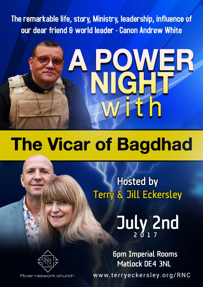 A Power Night with the Vicar of Baghdad