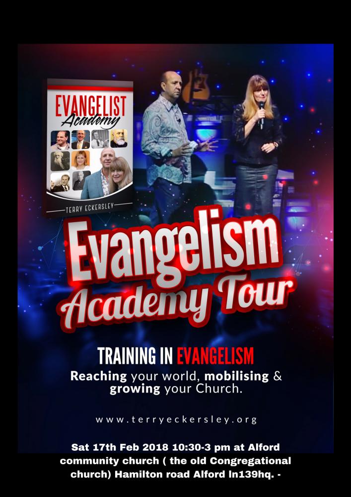 Evangelism Academy Tour @ Alford Community Church (the old Congregational church ) | England | United Kingdom