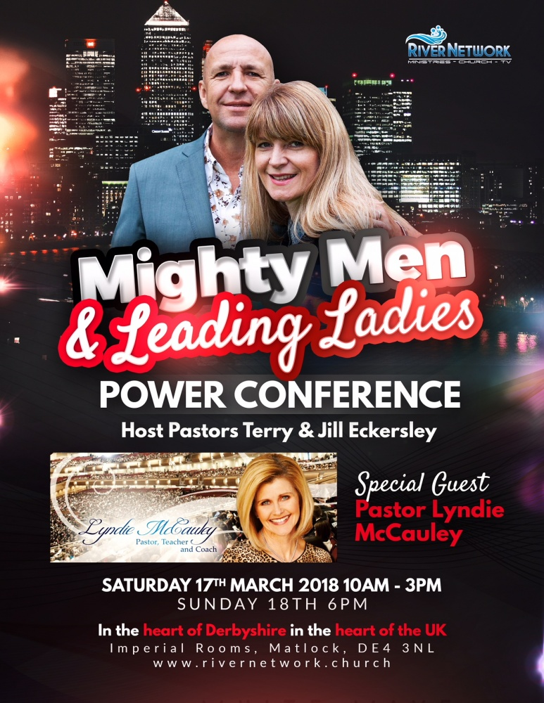 Mighty Men and Leading Ladies Power Conference @ Imperial Rooms, Matlock DE4 3NL