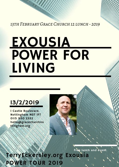 Exousia Power for Living
