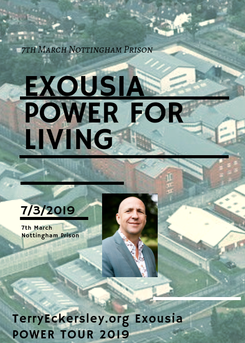 Exousia Power for Living @ Nottingham Prison