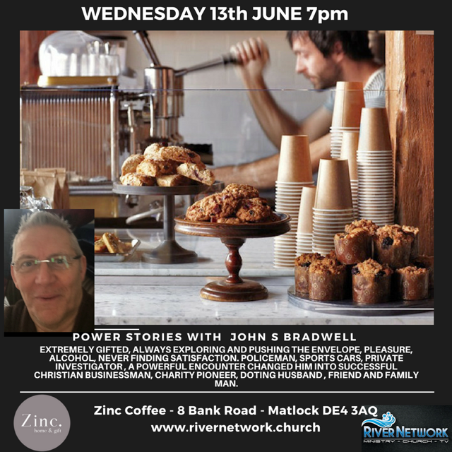 Power Stories with John S. Bradwell ( New Venue ) @ Zinc Coffee   England   United Kingdom