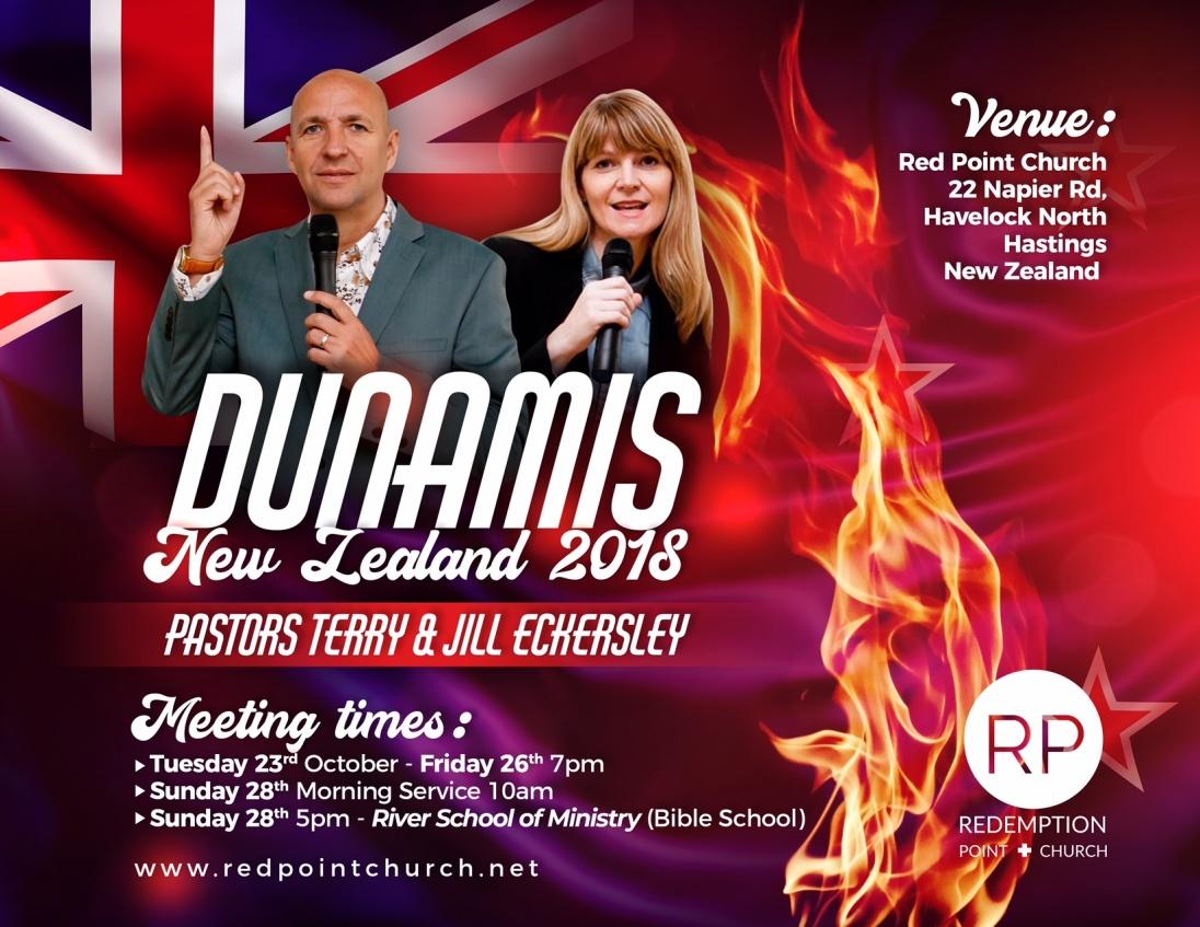 Dunamis New Zealand 2018 @ Red Point Church | Havelock North | Hawke's Bay | New Zealand