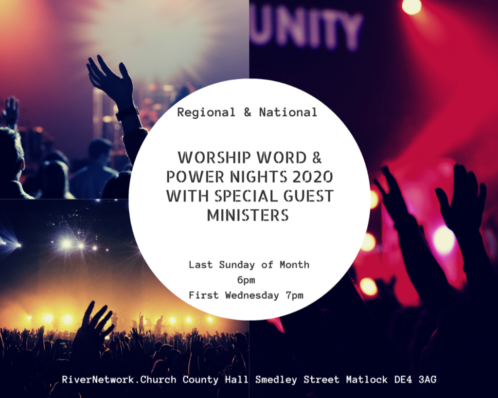 Regional & National  Worship word & Power nights 2020