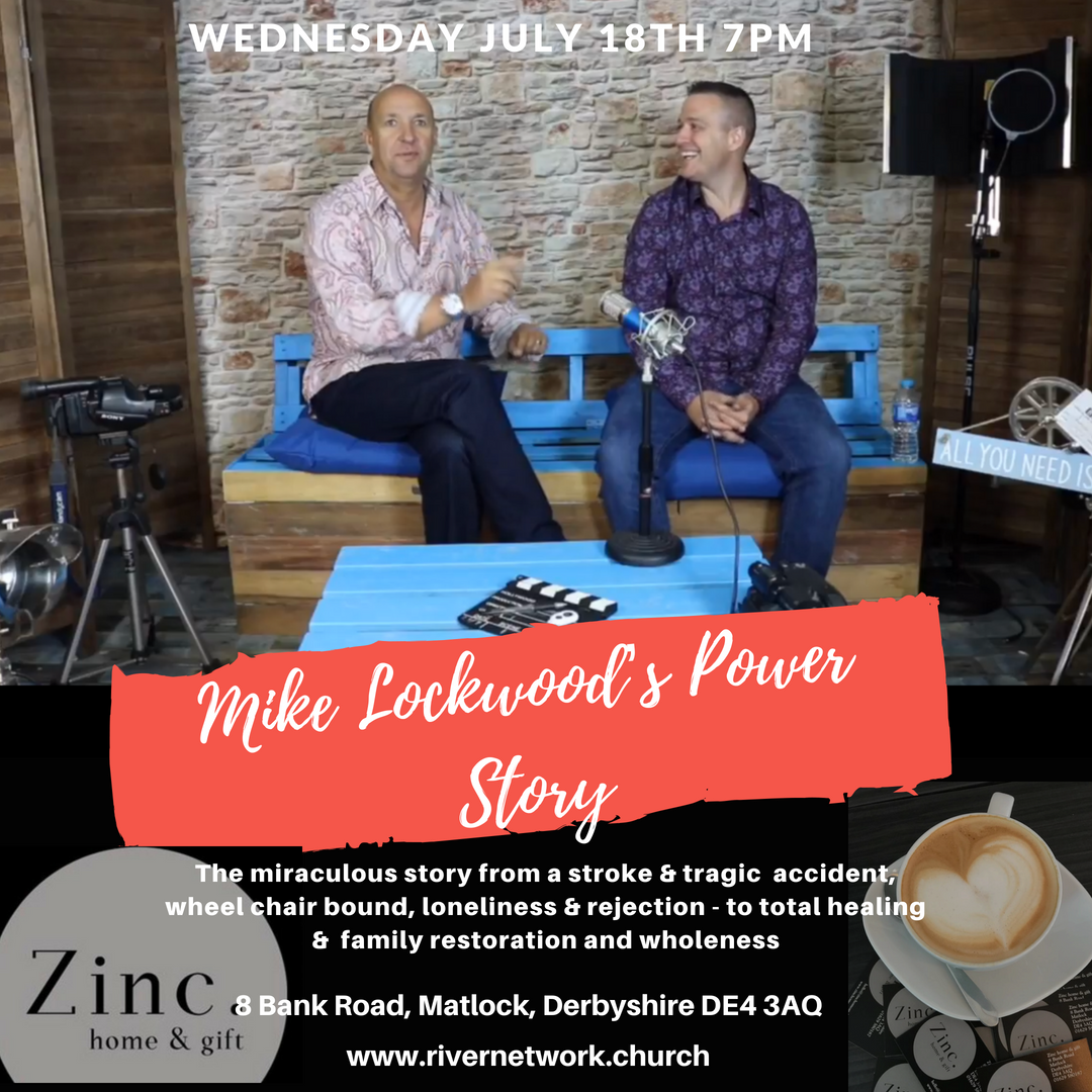Power Story with Mike Lockwood @ 8 Bank Road, Matlock, Derbyshire DE4 3AQ