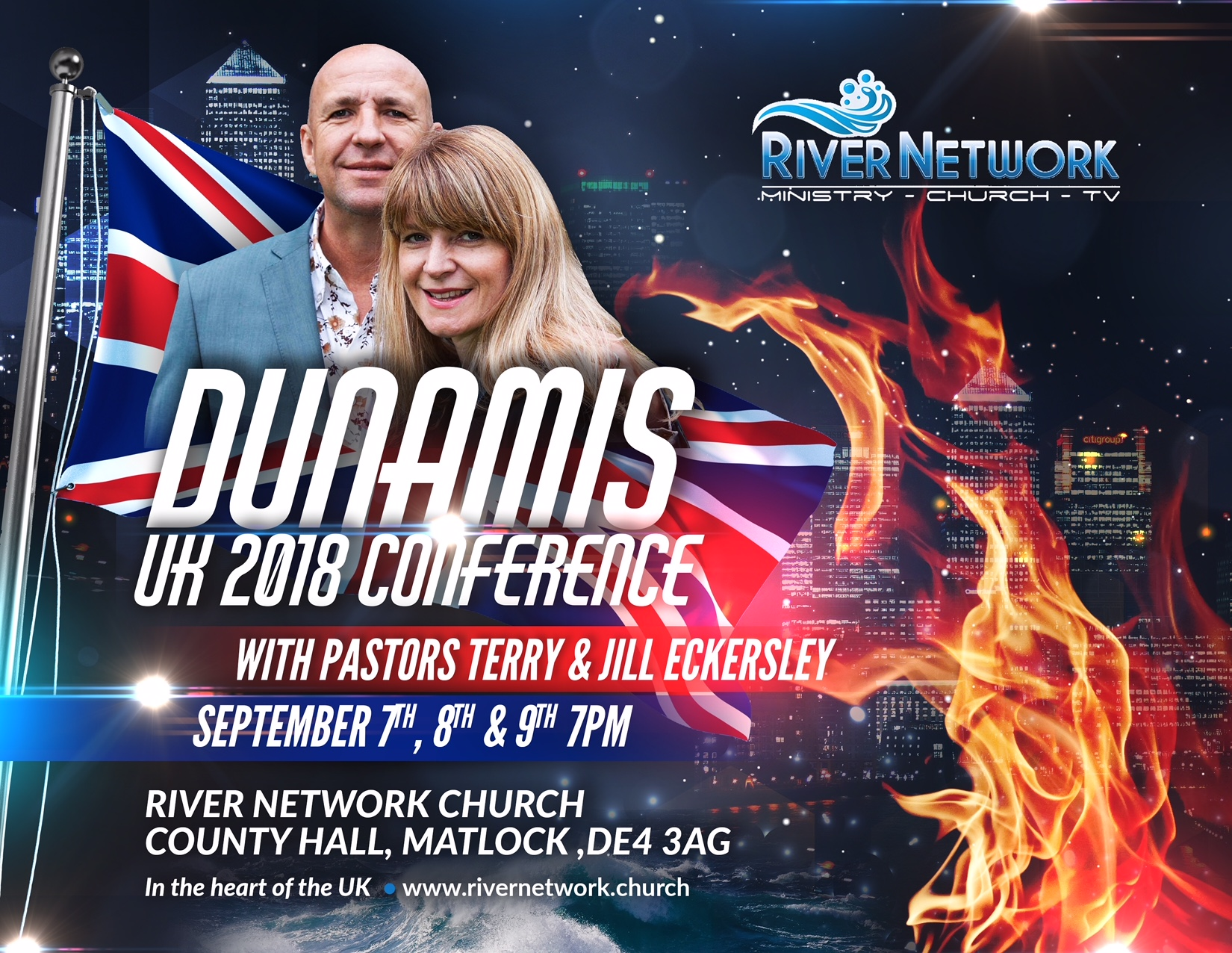 DUNAMIS UK 2018 Conference @ Country Hall Matlock DE4 3AG