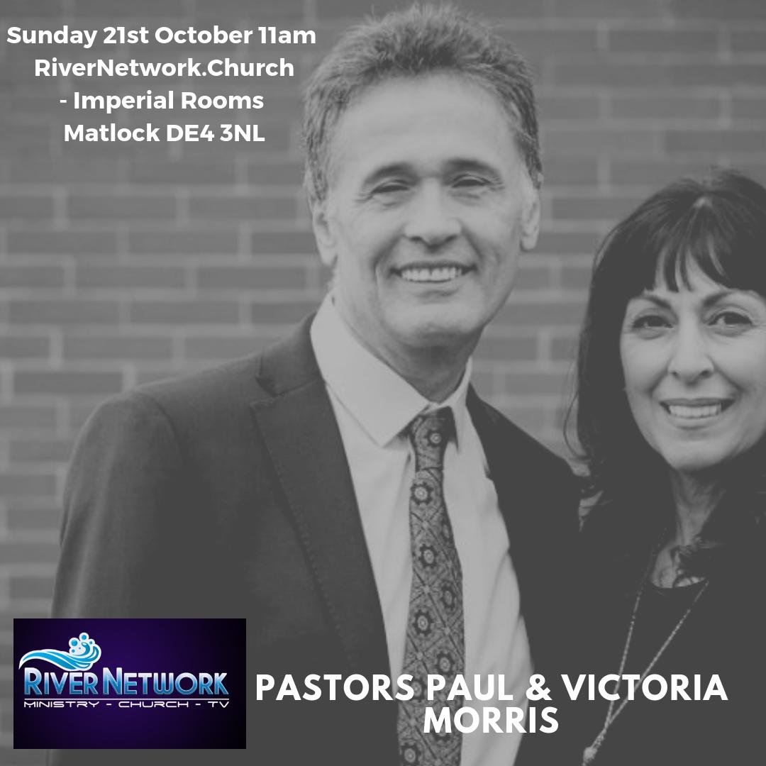 Pastor Paul Morris & Victoria @ Imperial Rooms, Imperial Road, Matlock DE4 3NL