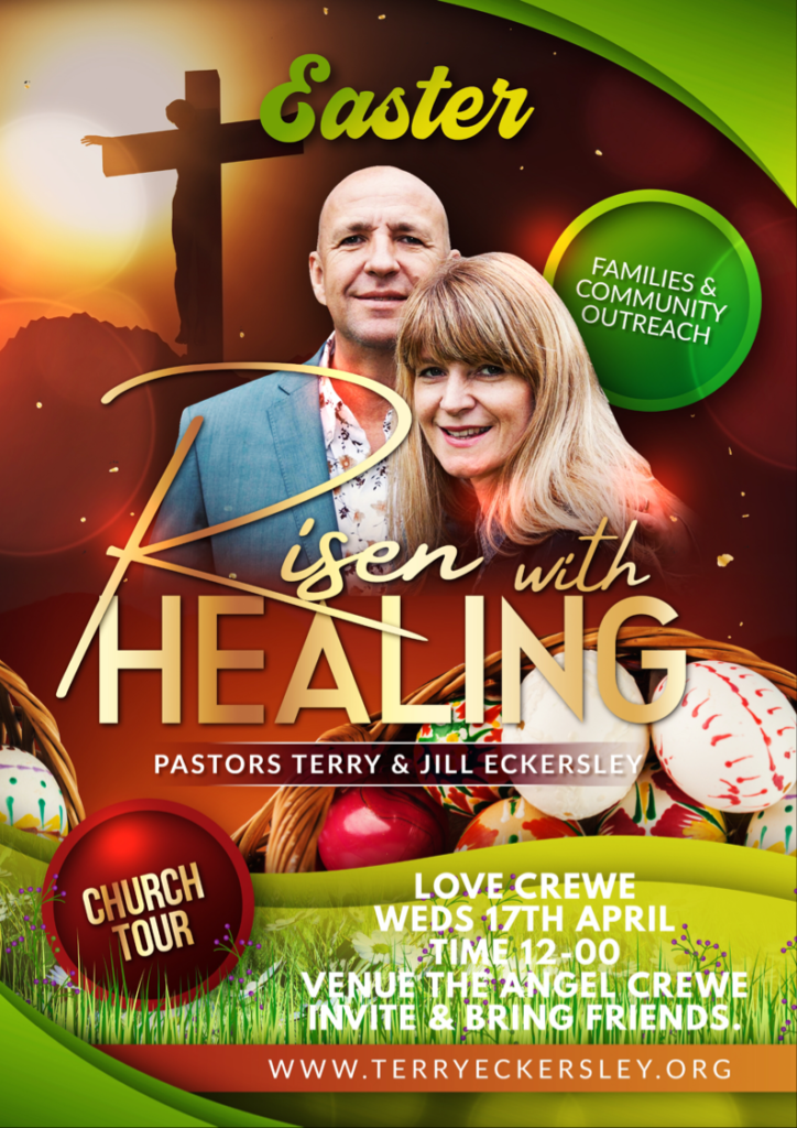 Risen With Healing Church Tour @ Love Crewe