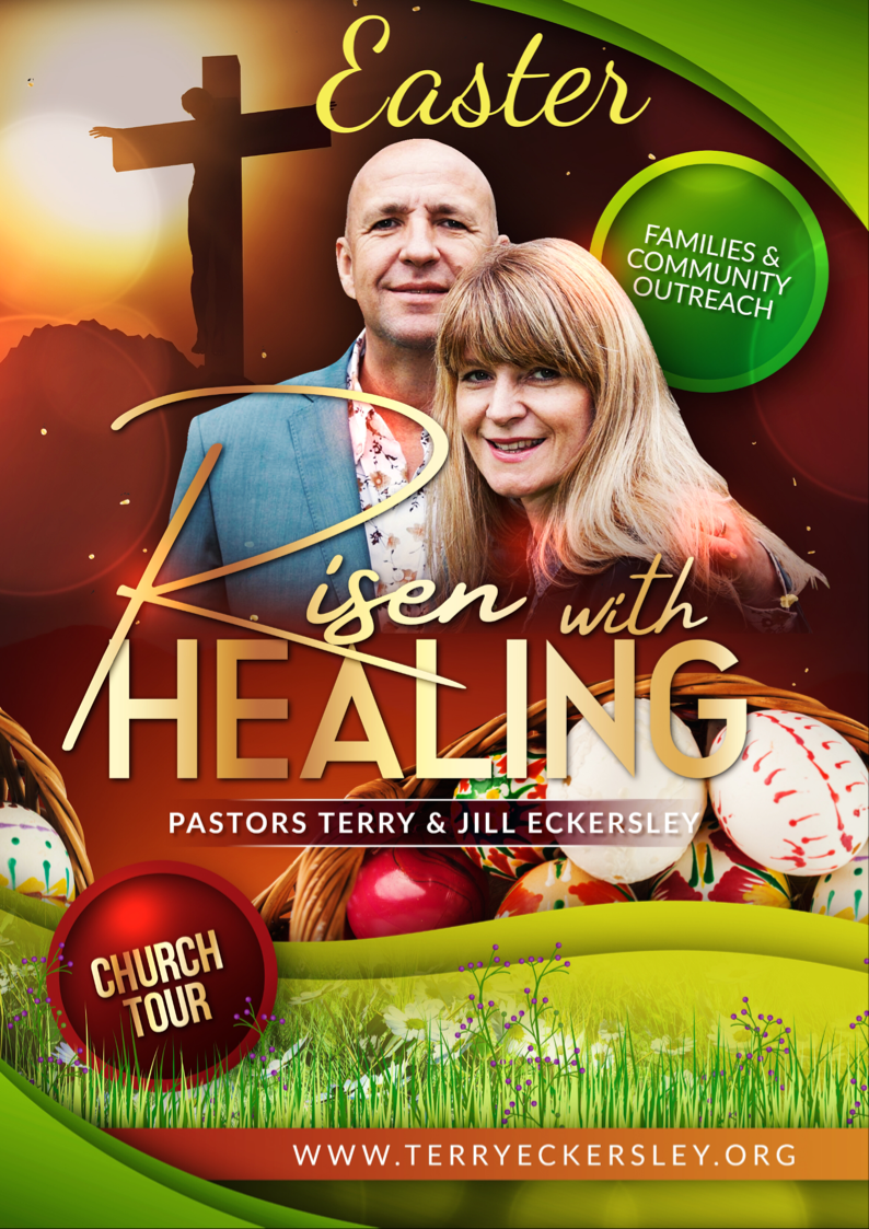 Risen with Healing @ County Hall Matlock DE4 3AG
