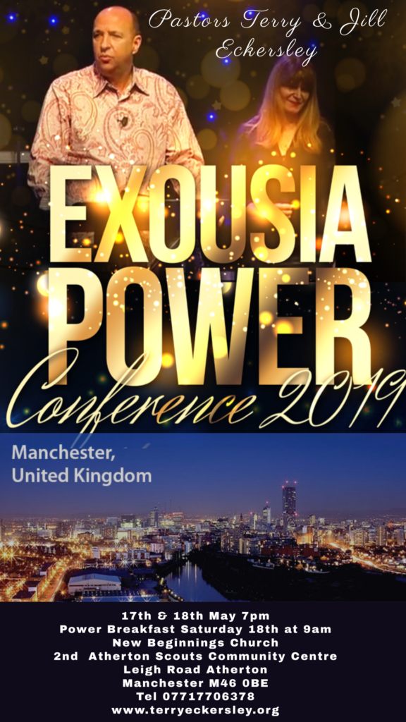 Exousia Power Conference 2019 Manchester, United Kingdom  ( Power Breakfast )