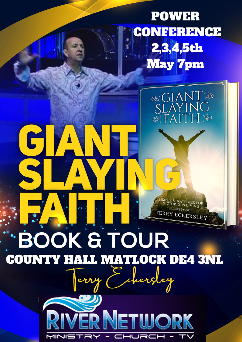 Giant Slaying Faith Book and Tour