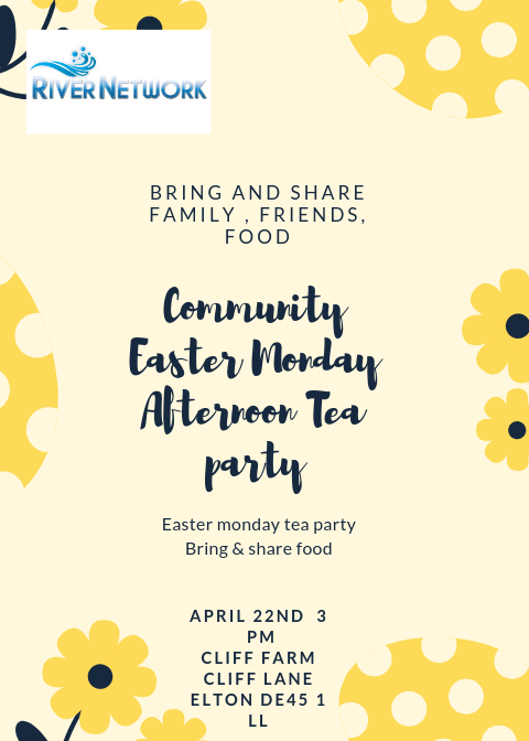 Community Easter Monday  Afternoon Tea party 🎉