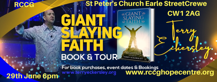 Giant Slaying Faith Book Tour
