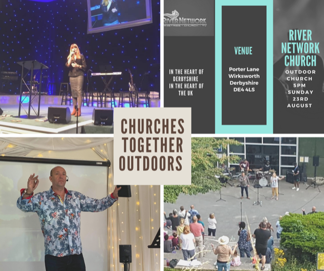 CHURCHES TOGETHER ! OUTDOOR REVIVAL UK 🇬🇧 This Sunday