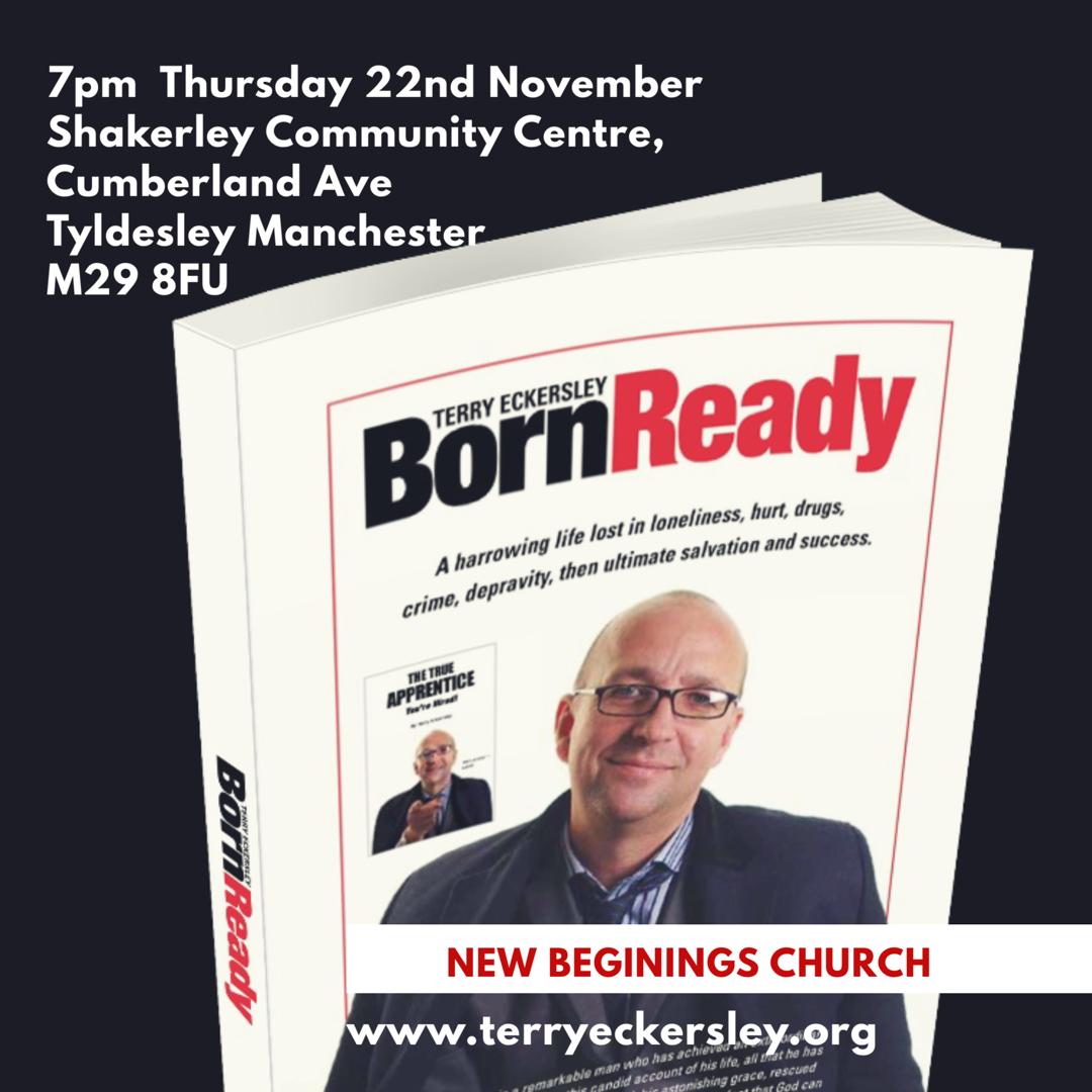 Born Ready @ Shakerley Community Centre, Cumberland Ave. Tyldesley Manchester M29 8FU