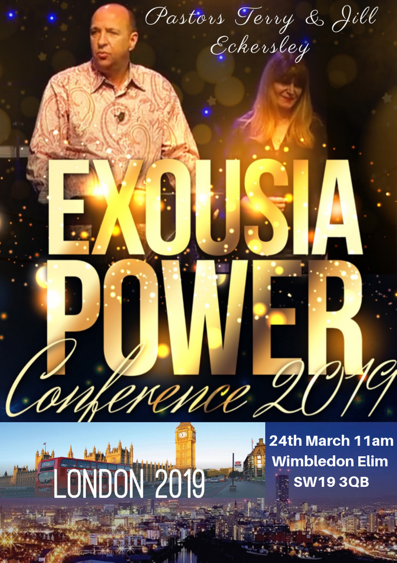 Exousia Power Conference London 2019 @ Wimbledon Chase Primary School, Merton Hall Road, Wimbledon, London, SW19 3QB